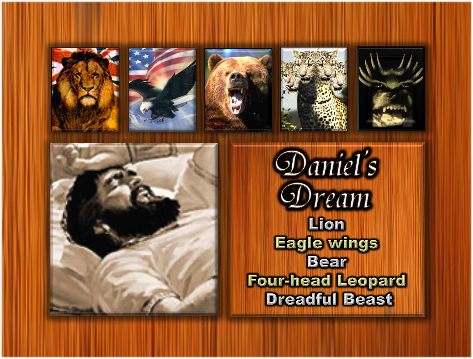 as for these great beasts which number four four kings shall spring up out of the earth daniel 717 ibid